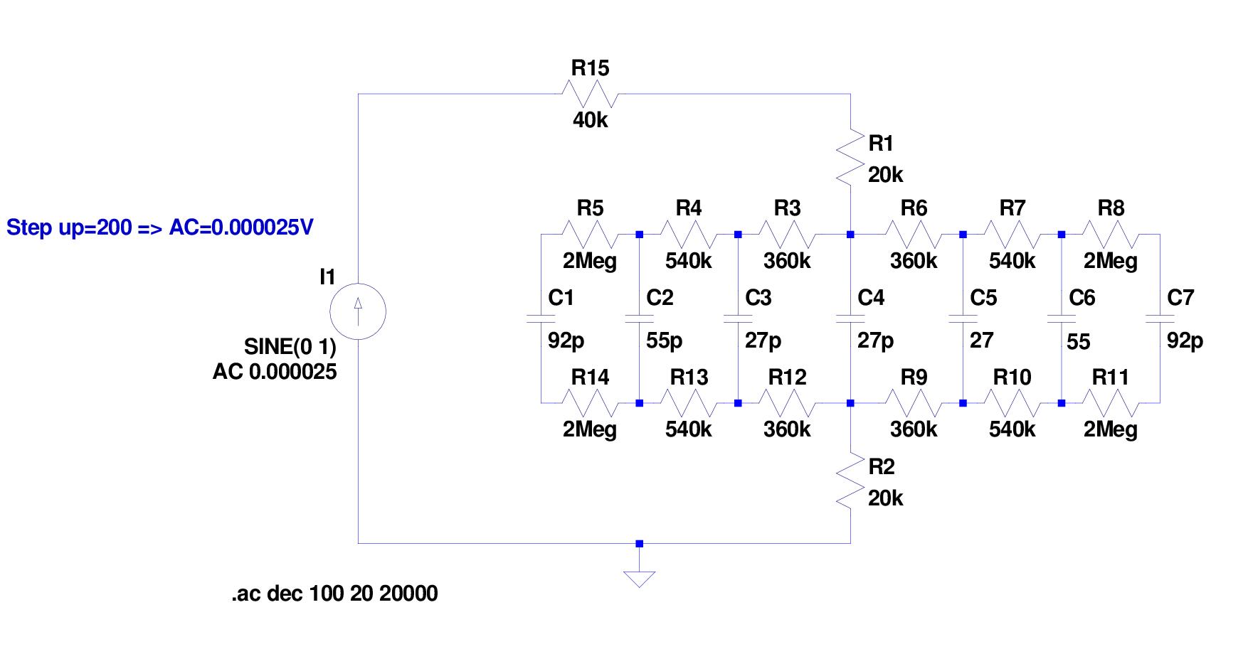 Impedance simulation circuit